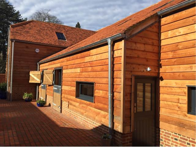 41 Larch Feather Edge Cladding by Co2 Timber