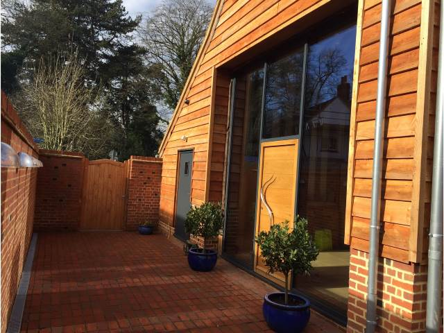 43 Larch Feather Edge Cladding by Co2 Timber