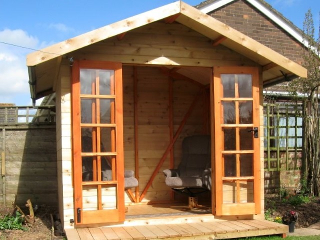 58 Western Red Cedar UK Shed