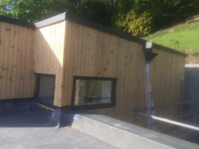 Co2 Timber red cedar cladding