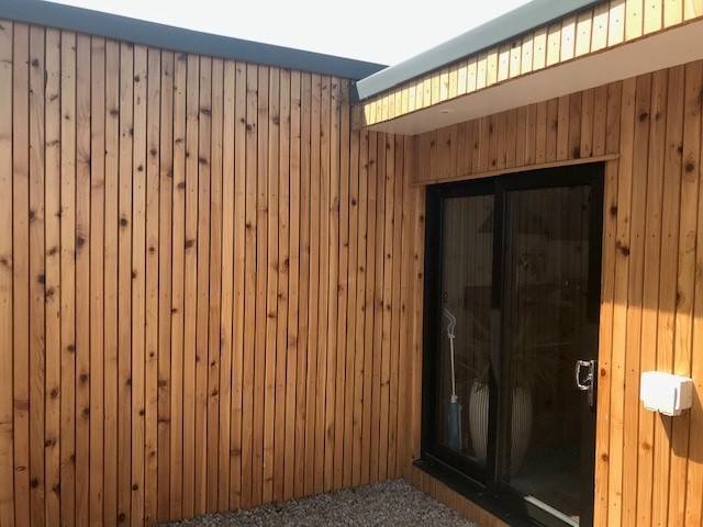 Co2 Timber Uk Grown cedar Rainscreen Cladding 116