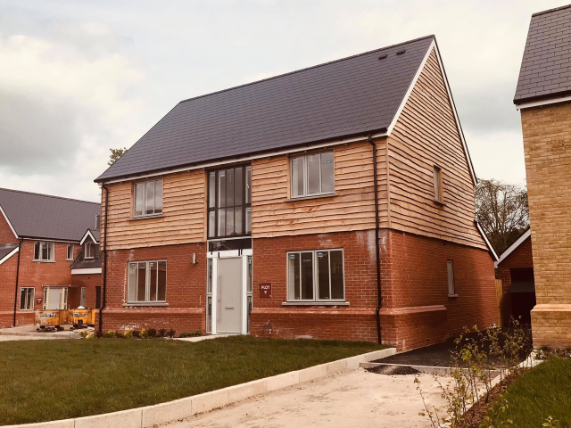 Co2 Timber Home Grown (UK) Larch Waney Edge Cladding 112