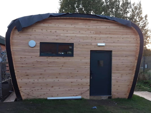 Co2 Timber Cedar PTGV Out Building 132