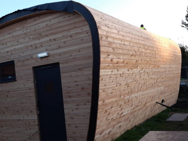 Co2 Timber Cedar PTGV Cladding 133