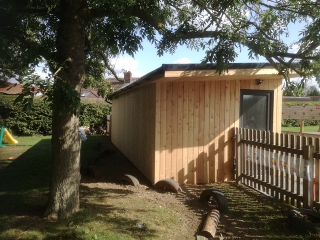 Co2 Timber Cedar Shed Shadow Gap 128