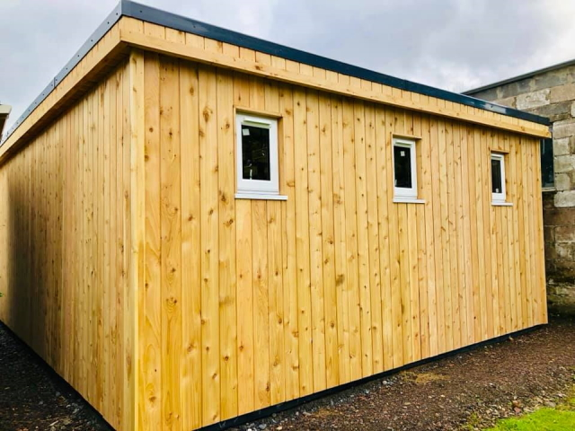 Co2 Timber British Cedar Building 129
