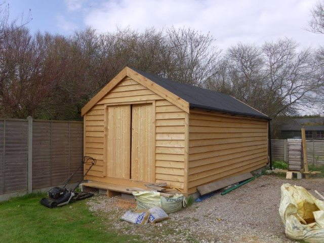 31 Home grown western red cedar from co2 timber custom shed