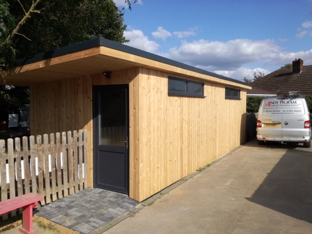 Co2 Timber Western Red Cedar Cladding Shed 127