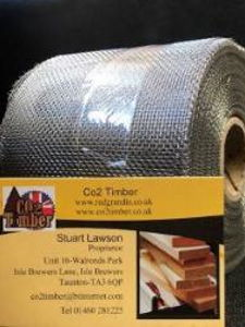 Co2 timber Stainless Steel Cladding Mesh